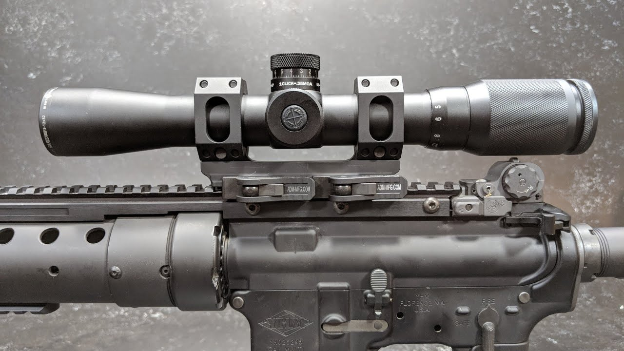scope mounts for a 15 rifle